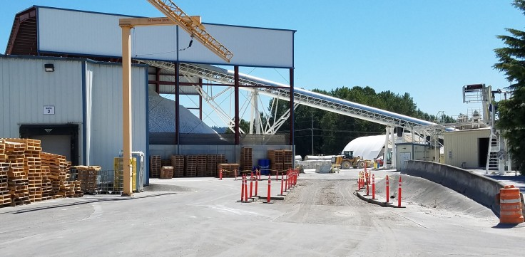300' Conveyor Customer Site