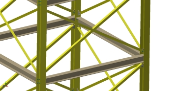 Conveyor Tower Center Structure