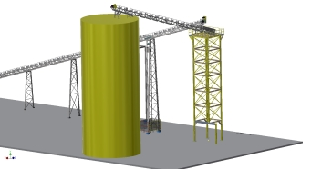 Conveyor Tower Layout