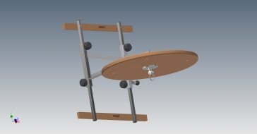 Speed Bag Platform Assembly 2