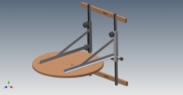 Speed Bag Platform Assembly